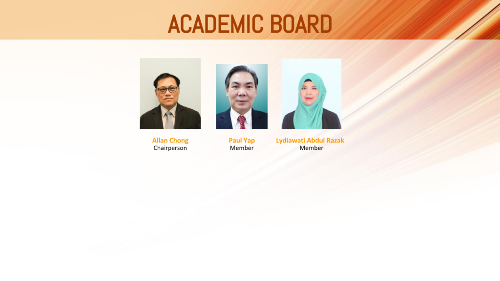 Academic Board Malvern