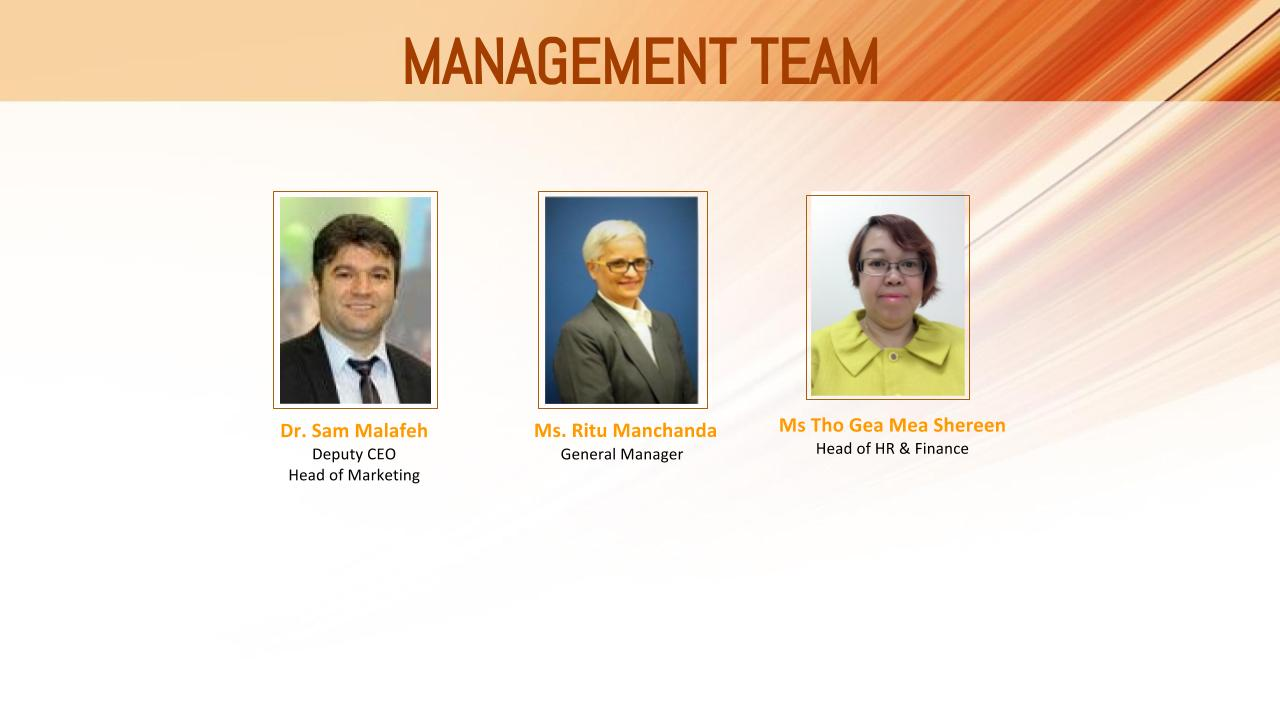 Management team Malvern Singapore
